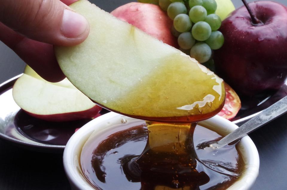 jabłka w miodzie